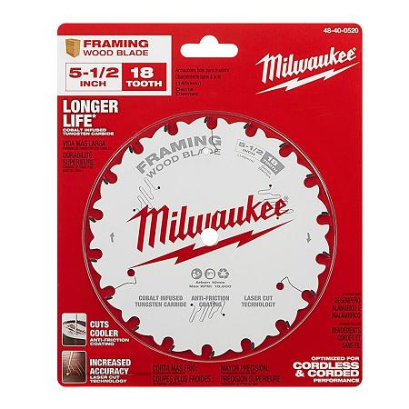 Milwaukee 5-1/2″ x 18T Framing Blade