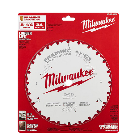 Milwaukee 8-1/4″ x 24T Framing Blade