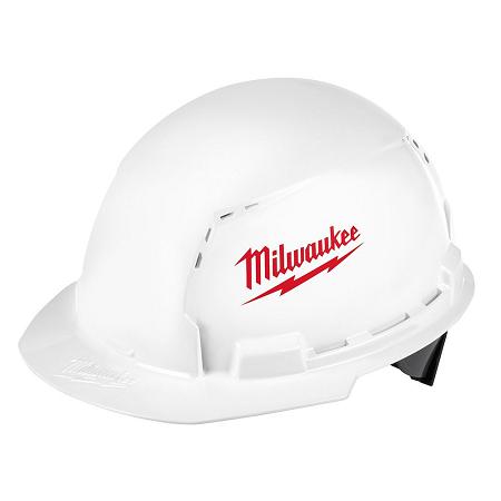 Milwaukee Front Brim Vented Hard Hat Type 1/Class C w/Large Logo