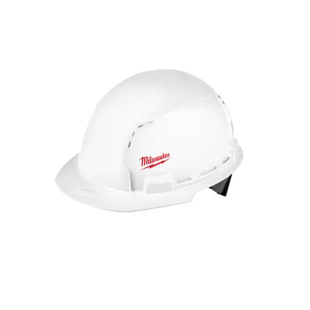 Milwaukee Front Brim Vented Hard Hat Type 1/Class C w/Small Logo