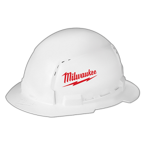 Milwaukee Full Brim Hard Hat Type 1/Class C w/Large Logo