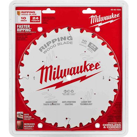 Milwaukee 10″ x 24T Ripping Blade