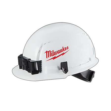 Milwaukee Front Brim Vented Hard Hat Type 1/Class E w/Large Logo