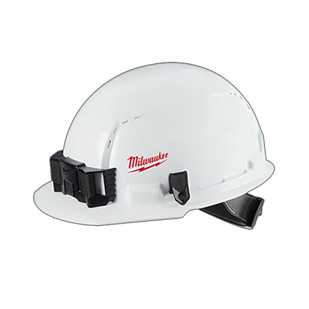 Milwaukee Front Brim Vented Hard Hat Type 1/Class E w/Small Logo