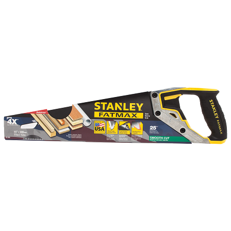 Stanley 15″ FatMax Tri-Material Hand Saw