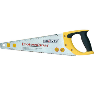 Crownman 20″ Hand Saw with Plastic Handle