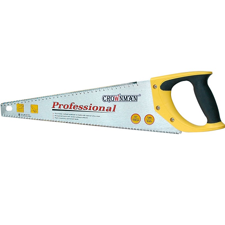 Crownman 22″ Hand Saw with Plastic Handle