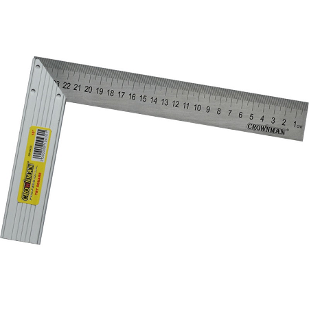 Crownman 10″ Try Square with Aluminum Handle