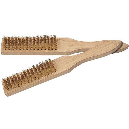 Crownman 6 x 15 Brass Wire Brush