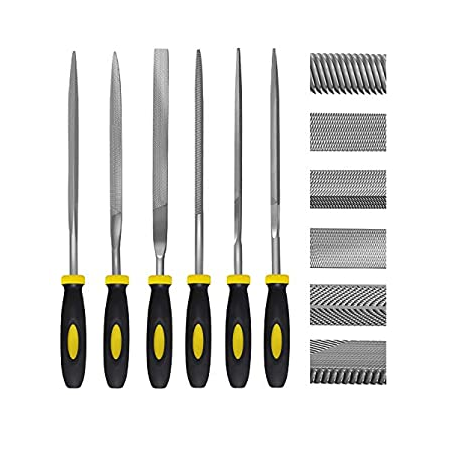 Crownman 6 Piece Needle File Set
