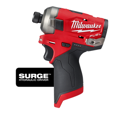 Milwaukee M12 FUEL™ SURGE™ 1/4″ Hex Hydraulic Driver Bare Tool (Tool Only)