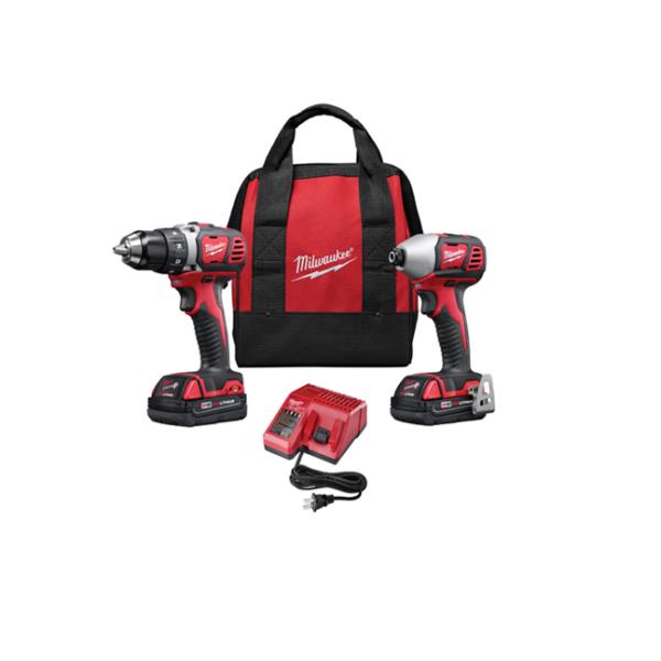 Milwaukee M18 Drill/Driver Combo Kit