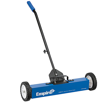 Empire 24″ Heavy Duty Magnetic Sweep with Wheels