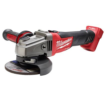 Milwaukee M18 FUEL 4-1/2″ / 5″ Grinder, Slide Switch Lock-On (Tool Only)