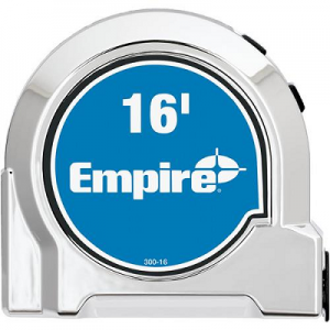 Empire 16′ Chrome Tape Measure