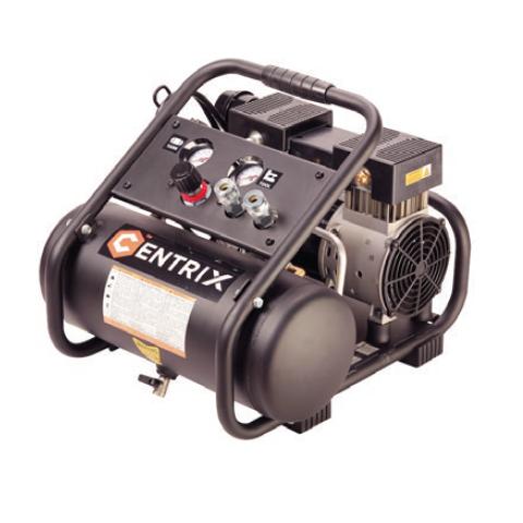 CENTRIX 2 Gallon 1HP Quiet Compressor