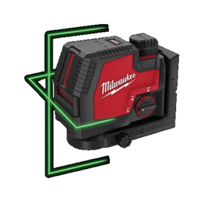 Milwaukee USB Rechargeable Green Cross Line Laser Kit—Coming Soon