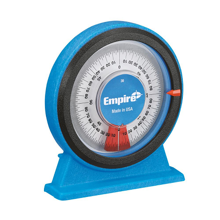 Empire Polycast Magnetic Protractor