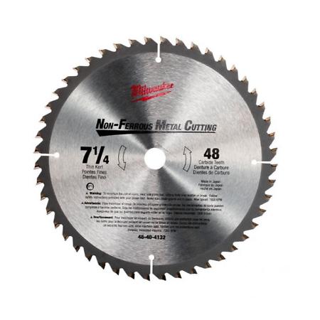 Milwaukee 7-1/4″ x 48T Metal Cutting Saw Blade