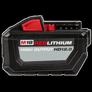 Milwaukee M18 12.0AH High Output Battery