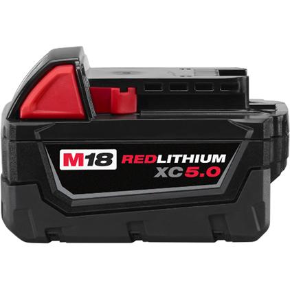 Milwaukee M18 5.0AH Battery 2PK