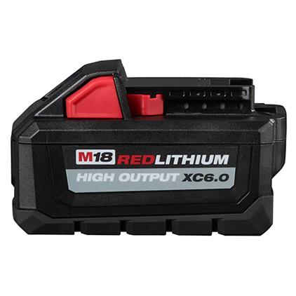 Milwaukee M18 6.0AH High Output Battery