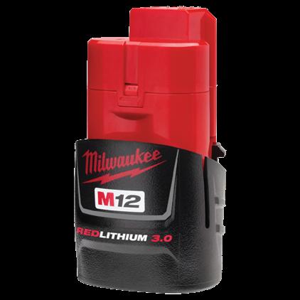 Milwaukee M12™ REDLITHIUM™ 3.0 Compact Battery Pack