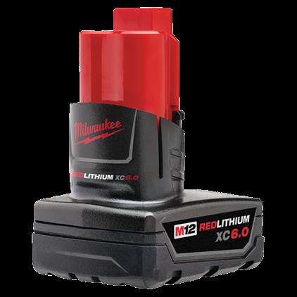 Milwaukee M12™ REDLITHIUM™ XC6.0 Battery