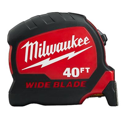 Milwaukee 40′ Gen 2 Wide Blade Tape Measure