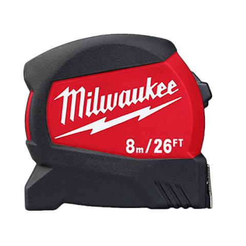 Milwaukee 8m/26′ Compact Wide Blade Tape Measure