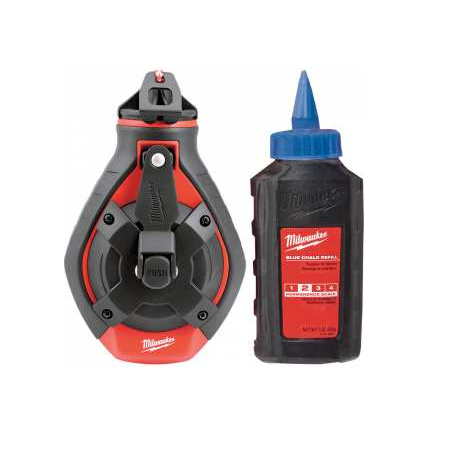 Milwaukee 100ft Bold Line Reel with Blue Chalk