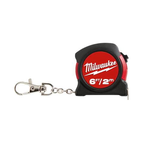 Milwaukee 2m/6′ Key Chain Tape Measure