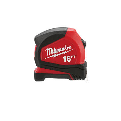 Milwaukee 16′ Compact Tape Measure