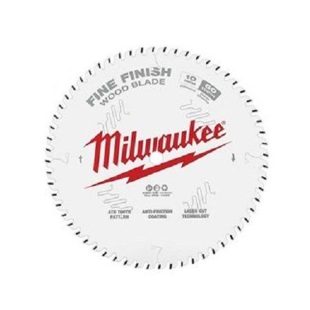 Milwaukee 10″ x 60T Finishing Saw Blade