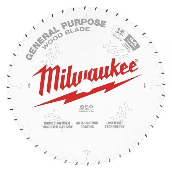 Milwaukee 12″ x 44T Ripping Saw Blades