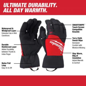 Milwaukee Winter performance gloves LARGE