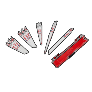 Milwaukee 10 Piece Sawzall Blade Set