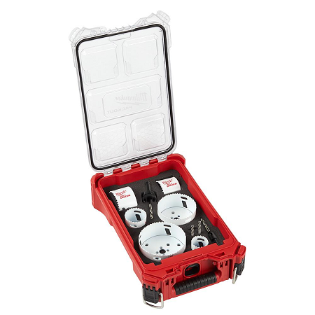Milwaukee 10 Piece Hole Dozer General Purpose Hole Saw Kit w/Compact Packout