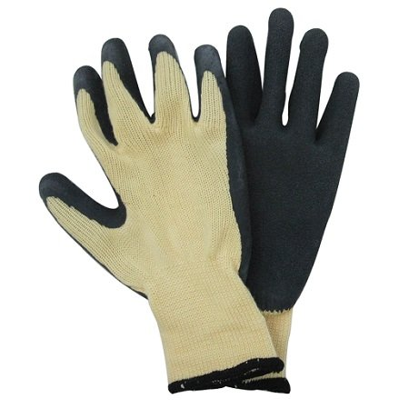 Pro Sense Black Latex Dipped Work Glove
