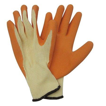 Pro Sense Orange Latex Dipped Work Glove
