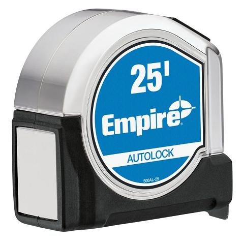 Empire 25′ Autolock Tape Measure