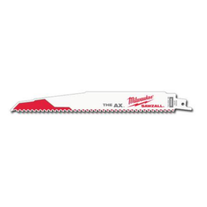 Milwaukee 12″ Ax Demo 5TPI Wood Cutting Sawzall Blade (5PK)