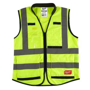 Milwaukee High Visibility Yellow Performance Vest 2XL/3XL