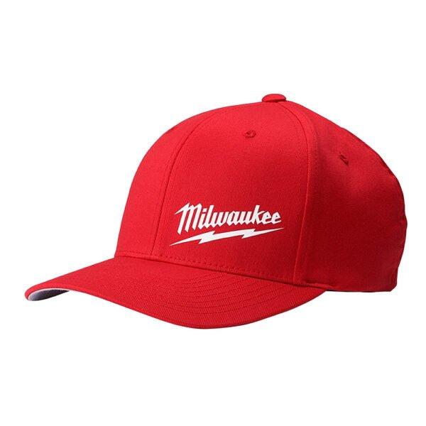 Milwaukee Flexfit Red Hat L/XL