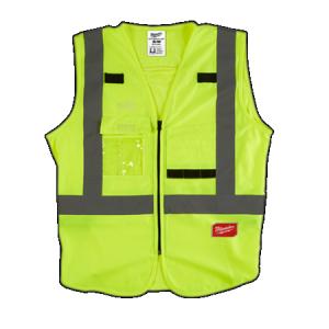 Milwaukee Yellow High Visibility Vest Small/Medium