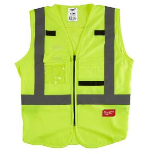 Milwaukee Yellow High Visibility Vest Large/XLarge