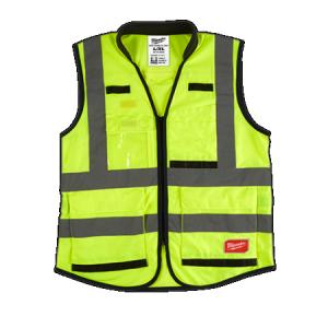 Milwaukee Yellow High Visibility Vest 2XLarge/3XLarge