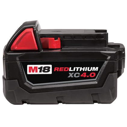 Milwaukee M18 4.0AH Battery (Bulk)
