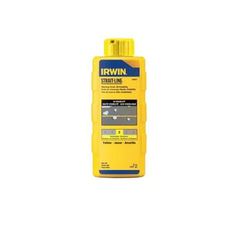 Irwin 8Oz Yellow Chalk