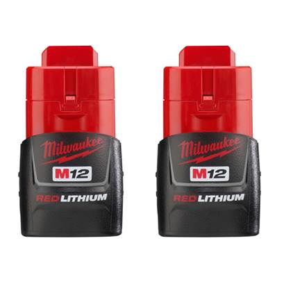 Milwaukee M12™ REDLITHIUM™ CP1.5 Battery Two Pack